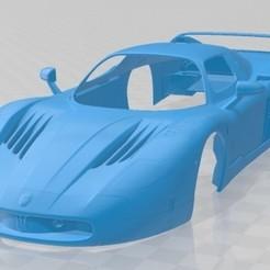 Maserati MC12 2005-1.jpg Download STL file Maserati MC12 2005 Printable Body Car • Design to 3D print, hora80