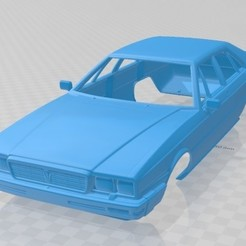 foto 1.jpg Download STL file Maserati Quattroporte Royale 1979 Printable Body Car • 3D printable model, hora80