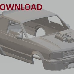 Download free STL files Corcel II Mad Max Printable Body Car, hora80