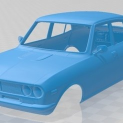 foto 1.jpg Download STL file Mazda Capella 616 Sedan 1974 Printable Body Car • 3D printable template, hora80