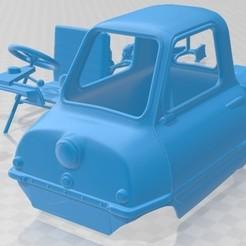 foto 1.jpg Download STL file Peel P50 Printable Car • Template to 3D print, hora80