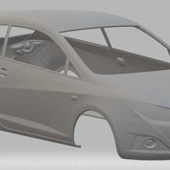 Télécharger fichier imprimante 3D Seat Ibiza 2008 Carrosserie de voiture imprimable, hora80