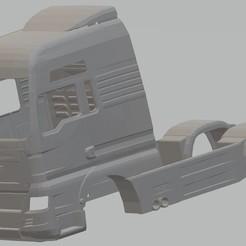 Impresiones 3D Man TGX V8 Printable Body Truck, hora80