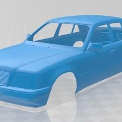 foto 1.jpg Download STL file Mercedes Benz E Class Sedan 1993 Printable Body Car • Model to 3D print, hora80
