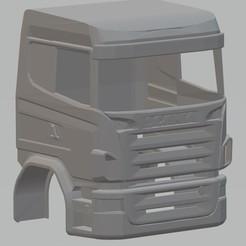 Imprimir en 3D Scania R730 Printable Cabin Truck, hora80