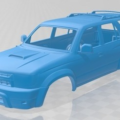foto 1.jpg Download STL file Toyota 4Runner 1999 Printable Body Car • 3D printer template, hora80