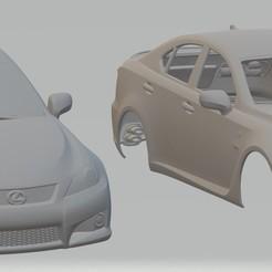 foto 1.jpg Télécharger fichier STL Carrosserie imprimable Lexus ISF • Design à imprimer en 3D, hora80