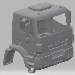Télécharger STL Iveco EuroStar Camion à cabine imprimable EuroStar, hora80