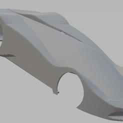 Télécharger fichier 3D Maserati Birdcage Carrosserie de voiture imprimable, hora80