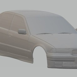 Download 3D printer designs 320i Printable Body Car, hora80
