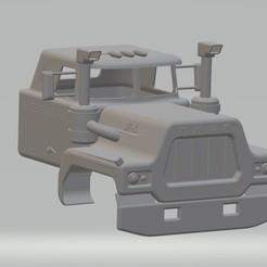 Download 3D printer model Old R Printable Cabin Truck, hora80