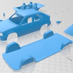 Download 3D printer files Opel Kadett 1991 Printable Car, hora80