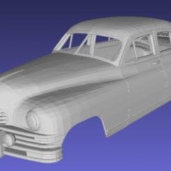 Download 3D printing templates Packard 1948 Body Car printable 3D, hora80