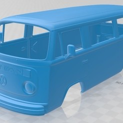 foto 1.jpg Download STL file Volkswagen Transporter T2 1972 Printable Body Van • 3D printing model, hora80