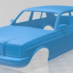 foto 1.jpg Download STL file Mercedes Benz W123 Sedan 1975 Printable Body Car • 3D printable object, hora80