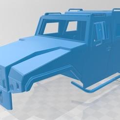 Download 3D printer designs Mowag Eagle Printable Body Truck, hora80