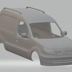 Download 3D print files Renault Kangoo Printable Body Van, hora80