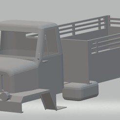 Download 3D printing files Prague V3S Printable Truck, hora80