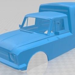 foto 1.jpg Download STL file Lada 2715 Printable Body Van • 3D print design, hora80
