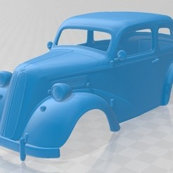 foto 1.jpg Download STL file Anglia E494A 2 Door Saloon 1949 Printable Body Car • 3D printable template, hora80