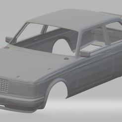 Download STL file Volvo 240 Turbo Printable Body Car, hora80