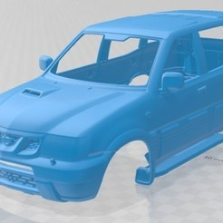 foto 1.jpg Download STL file Nissan Terrano II 2006 Printable Body Car • Template to 3D print, hora80