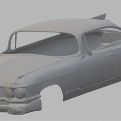 Download STL El Dorado 1959 Printable Body Car, hora80