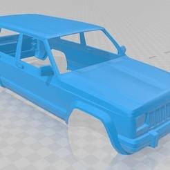 Descargar modelos 3D Jeep Cherokee 1990 Printable Body Car, hora80