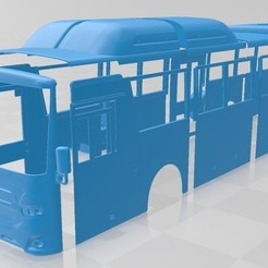 foto 1.jpg Download STL file Scania Interlink Bus 2015 Printable • 3D print template, hora80