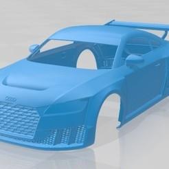 Audi TT RS Turbo 2017-1.jpg Download STL file Audi TT RS Turbo 2017 Printable Body Car • 3D print object, hora80