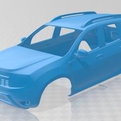 Descargar modelo 3D Dacia Duster 2011 Printable Body Car, hora80
