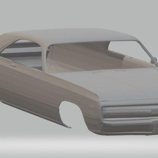Descargar archivo 3D 300 1970 Printable Body Car, hora80