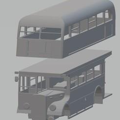 Download STL London Bus Printable Body, hora80