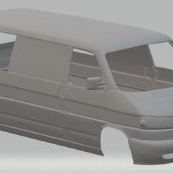 Download STL Volkswagen T4 Printable Body Van, hora80