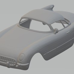 Descargar modelos 3D Corvair 1954 Printable Body Car, hora80