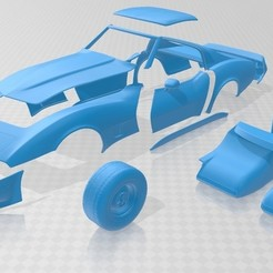 Download 3D print files Stingray C3 1980 Printable Car, hora80