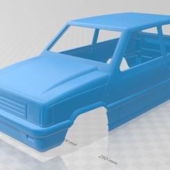 Descargar diseños 3D Fiat - Seat Panda Printable Body Car, hora80