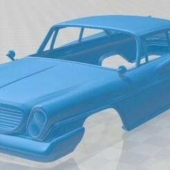 Chrysler Newport 2 1961-1.jpg Télécharger fichier STL Newport 2 1961 Carrosserie imprimable • Design imprimable en 3D, hora80