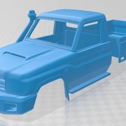 foto 1.jpg Télécharger fichier STL Carrosserie imprimable du Toyota Land Cruiser • Plan pour imprimante 3D, hora80