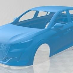 Peugeot 208 2020-1.jpg Télécharger fichier STL Carrosserie imprimable de la Peugeot 208 2020 • Modèle pour imprimante 3D, hora80