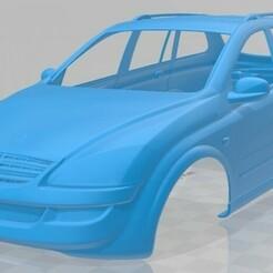 SsangYong Kyron 2011-1.jpg Download STL file SsangYong Kyron 2011 Printable Body Car • 3D printable template, hora80