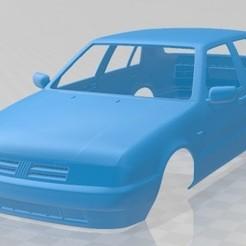 Fiat Croma 1993-1.jpg Download STL file Fiat Croma 1993 Printable Body Car • 3D print design, hora80