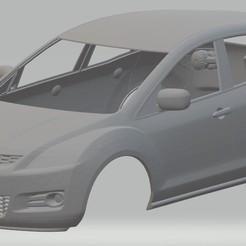 foto 1.jpg Télécharger fichier STL Mazda CX-7 Véhicule multisegment à carrosserie imprimable • Objet pour imprimante 3D, hora80