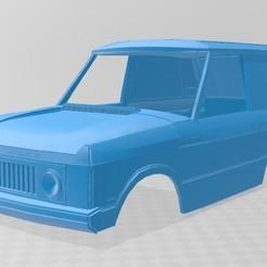 Range Rover Dakar 1.jpg Download STL file Range Rover Dakar / Trident body car printable 3D • 3D print object, hora80