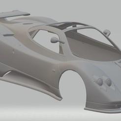 Download 3D printer designs Pagani Zonda C12 Printable Body Car, hora80