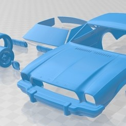 foto 1.jpg Download STL file 1974 Mustang Coupe Printable Car • 3D printer template, hora80