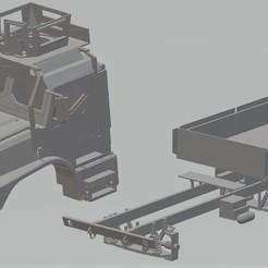 foto 1.jpg Télécharger fichier STL Véhicule tactique moyen de remplacement pour camion imprimable • Plan pour imprimante 3D, hora80