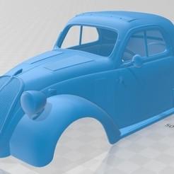 foto 1.jpg Download STL file Fiat 500 Topolino 1936 Printable Body Car • 3D printing object, hora80