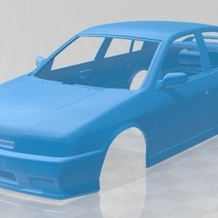 Nissan Primera 1990 - 1.jpg Download STL file Nissan Primera 1990 Printable Body Car • 3D printer object, hora80