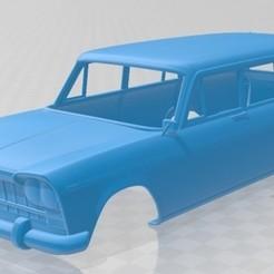 Descargar archivo 3D Fiat 2300 Familiare 1963 Printable Body Car, hora80